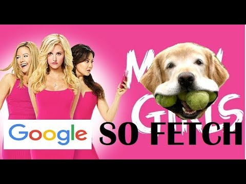 Meet the Plastics - Mean Girls - but every lyric is a google image