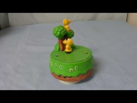 Animated Peanuts Woodstock the Bird musical figure - Music Box Maker