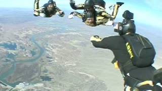 Matthew Marsden Jumps with the Golden Knights