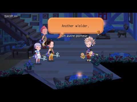 Trailer de lancement Kingdom Hearts Unchained χ