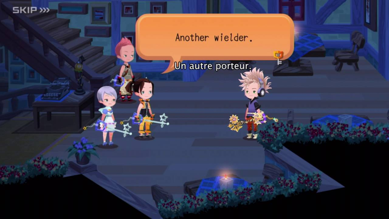 Trailer de lancement Kingdom Hearts Unchained χ