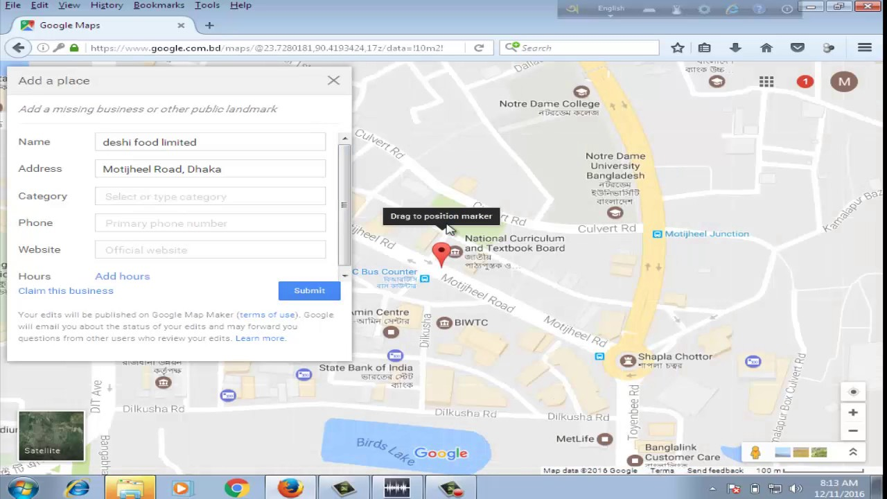 how to add business location on google maps - YouTube How To Add Business Location Google Maps on