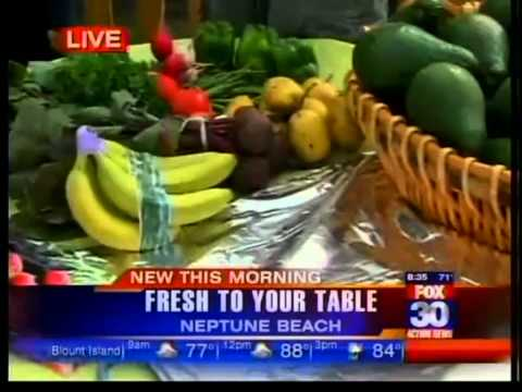 Special Delivery!  Fresh, organic produce right to your doorstep.