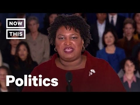 Stacey Abrams Fires Back at Trump's SOTU in Democrats' Official Response | NowThis