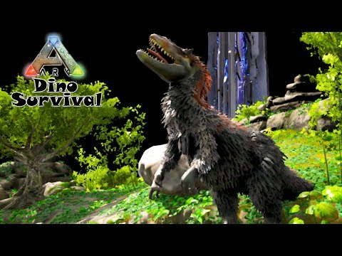 Ark: Dino Survival #05 - Caçada com Yutyrannus. MOD Play as Dino (Gameplay PT/BR)