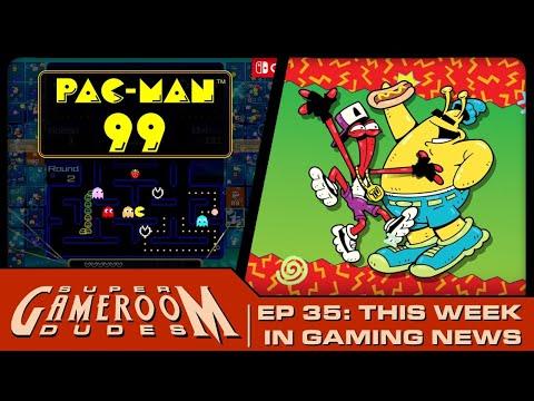 Pac-Man 99! ToeJam & Earl! Arcade1Up & AtGames Talk! Super Hero Games! from MichaelBtheGameGenie