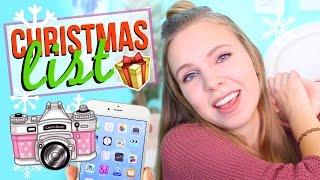 Christmas Wish List 2016: Teenage Girl Gift Guide! | BWithEmMarie