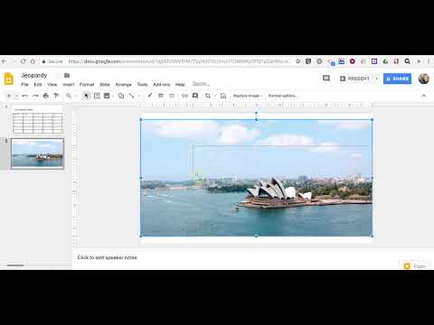 How to Create a Jeopardy-style Game in Google Slides - YouTube