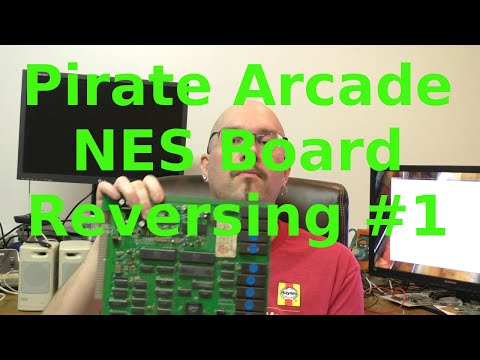 Reverse Engineering Unlicensed NES Arcade Board #1