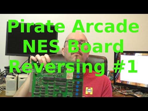 Reverse Engineering Unlicensed NES Arcade Board #1
