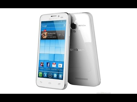 Alcatel    One Touch    Pop       C9    Hard Reset and Fot Password Recovery  Factory Reset  YouTube