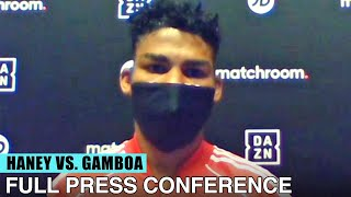 YURIORKIS GAMBOA IN-DEPTH ON DEVIN HANEY | FULL PRESS CONFERENCE