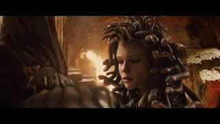 Битва титанов. Персей отрубает головы медузе. Скажи всем, что это сделали люди!