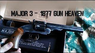 Gun Heaven 1877 MAJOR 3 6mm CO2 Revolver Airsoft