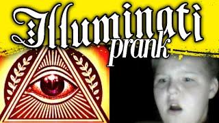 THE ILLUMINATI PRANK 3 (OMEGLE PRANKS)