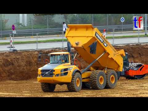**Schweden Power** VOLVO A40G Dumper on the Site / im Baustelleneinsatz, Germany, 2017.
