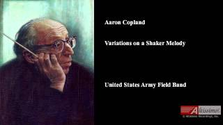 Aaron Copland, Variations on a Shaker Melody