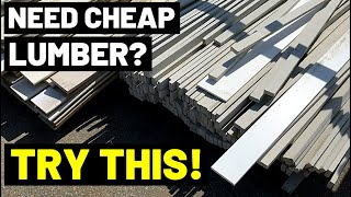 This Store Has CHEAP LUMBER / BUILDING MATERIALS Year-Round! (Reused/Reclaimed Lumber, Tile, Etc...)