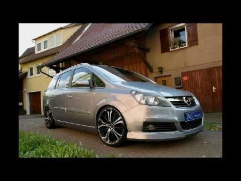 Opel Zafira Tuning Youtube