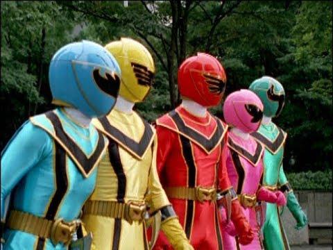 Power Rangers Mystic Force - The Hunter - Power Rangers vs Oculous (Episode 25)