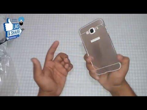 Samsung Galaxy J7 Luxury Bumper Case (Unboxing) &  First Impression