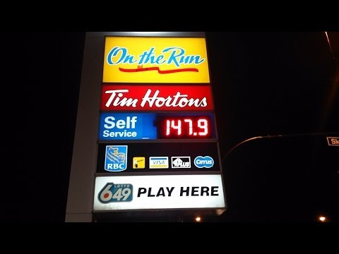 North America's Most Expensive Gasoline Prices: High and Evil in Vancouver, Canada!!