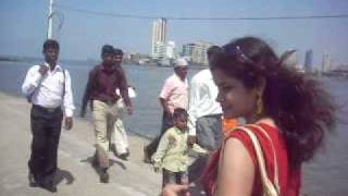 Going to Haji Ali dargah-Mumbai-video 4
