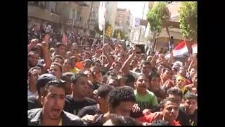 مسيرات حاشدة تجوب شوارع الفيوم 4 - 10 - 2013