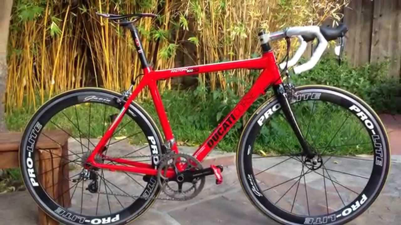 Ducati Corse Bianchi Carbon Fiber Bicycle Youtube