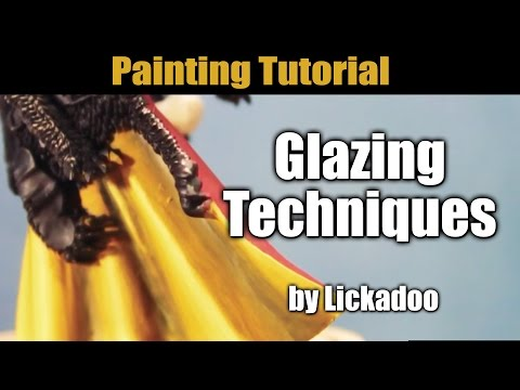 Glazing Painting Tutorial by Lickadoo