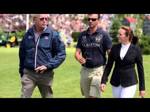 Showjumping -Rob Hoekstra talks about the International Stairway series