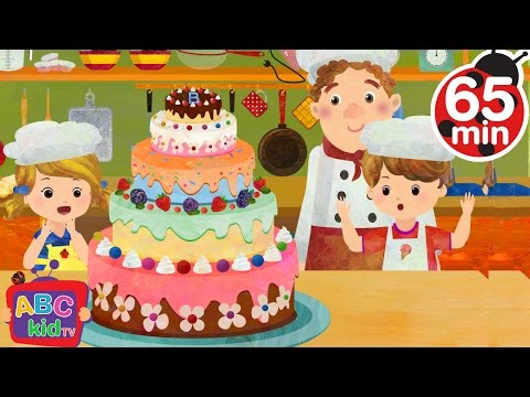 Pat a Cake  + More Nursery Rhymes & Kids Songs  ABCkidTV