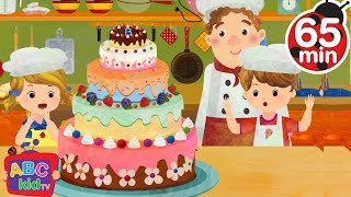 pat a cake   more nursery rhymes kids songs abckidtv