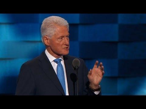 Bill Clinton's entire Democratic convention speech