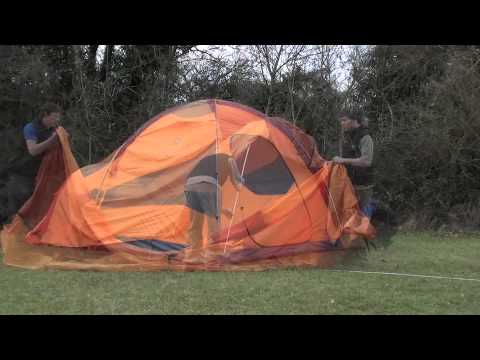 & How to pitch a Marmot Hacienda 6P tent - YouTube