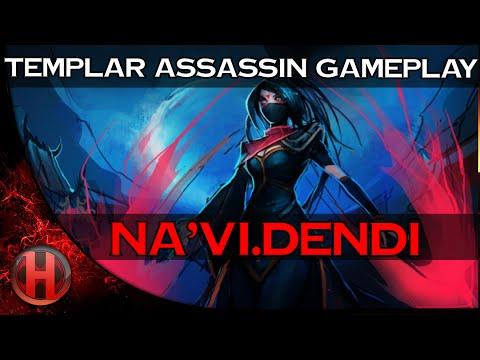 NaVi.Dendi Pro Templar Assassin Gameplay Dota 2