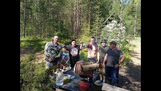 Рыбалка на озере Янисъярви на новых местах