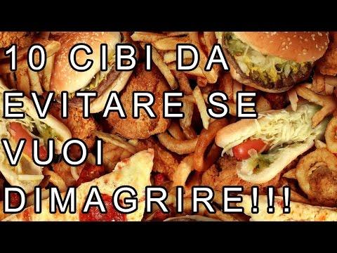 10 CIBI DA EVITARE SE VUOI DIMAGRIRE IN FRETTA | FoodVlogger