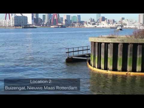 Rotterdam filtert plastic troep uit Nieuwe Maas