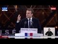REPLAY. Discours intégral d'Emmanuel Macron au Louvre