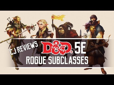 Swashbuckler, Mastermind, Inquisitive & Scout Dungeons and Dragons 5e Rogue Subclass Review