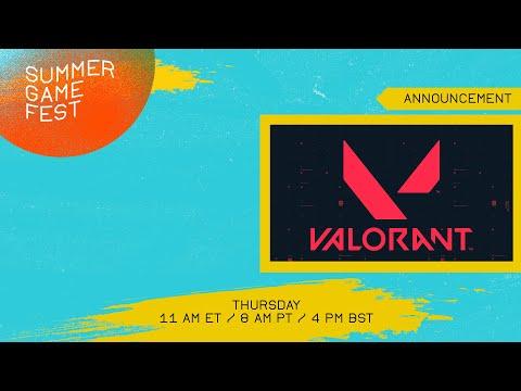 Valorant release date announcement #summergamefest