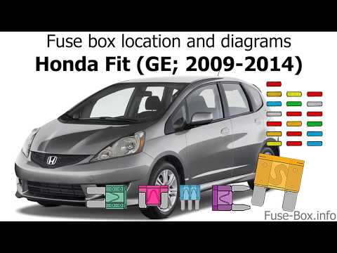 fuse box location and diagrams honda fit (ge; 2009 2014 2013 honda fit ac relay location 2003 honda civic fuse box wiring