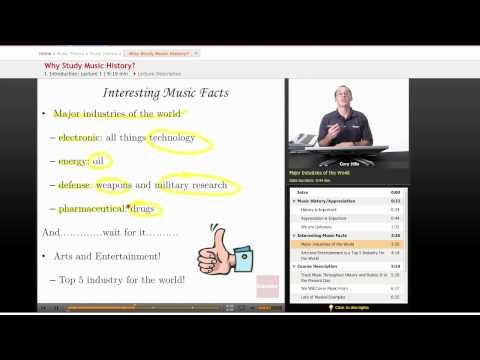 Music History: Why Study Music History?