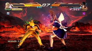 Online Battle #01 LILI vs LAW (TEKKEN 7 gameplay ไทย PC 2017)