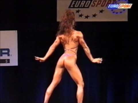 Pina Theodoridis (AUS), 9th NABBA Miss World Grand Prix, June 1996 [EUROSPORT]