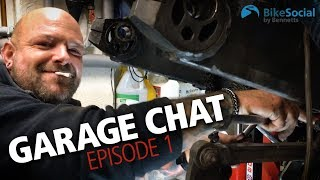 How to... fit a shock, replace bearings, build a custom motorcycle | Garage chat #1