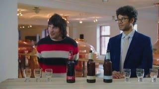 Noel Fielding & Richard Ayoade beer tasting in Copenhagen  - Travel Man S02E03