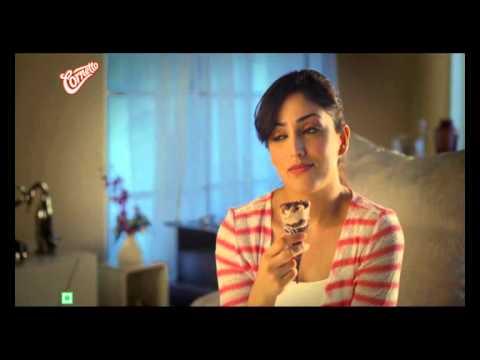 Cornetto sid yami gautam ad Hindi - YouTube