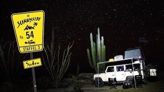 Wildcampen zwischen riesigen Kakteen 🌵 | Baja California, Mexiko 🇲🇽 | REISE-DOKU-VLOG³ N°54